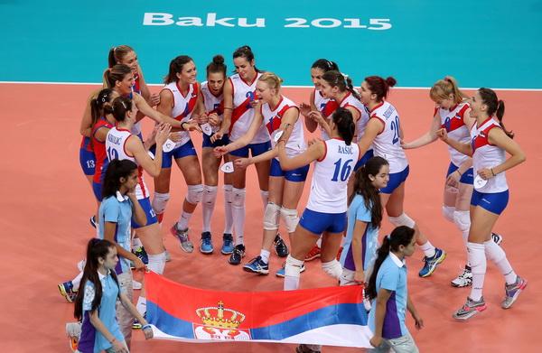 Odbojkašice Srbije su bronzane u Bakuu