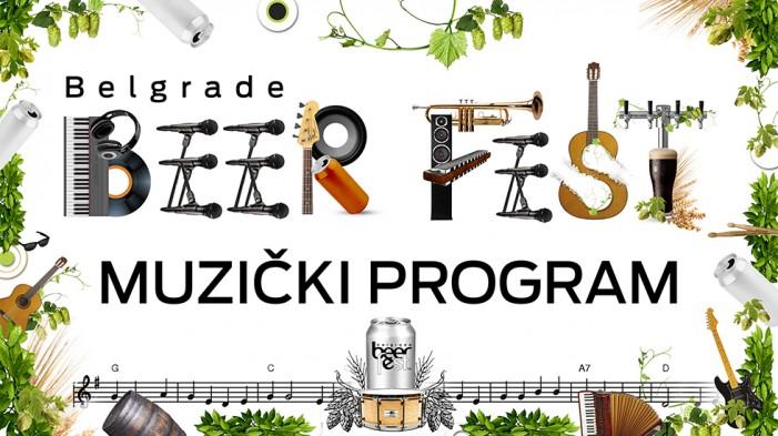 Belgrade Beer Fest objavio muzički program