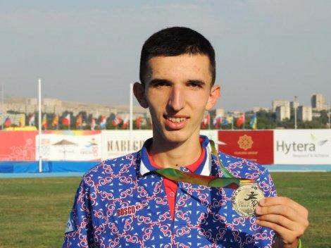 Atletičar Elzan Bibić osvojio zlatnu medalju u trci na 3.000 metara u Tbilisiju
