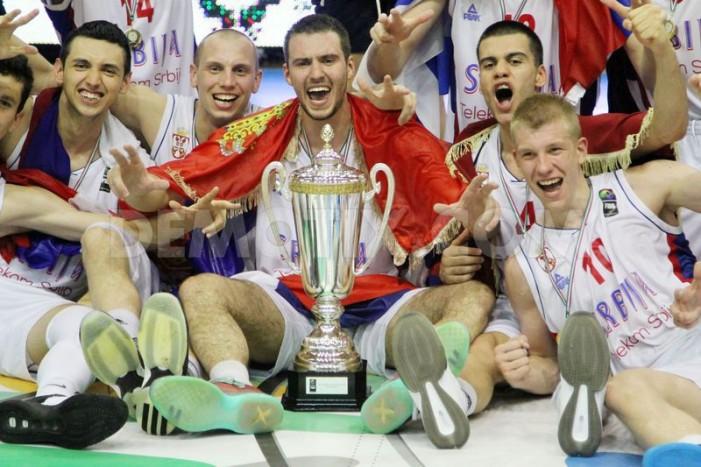 Mlada košarkaška reprezentacija Srbije PRVAK EVROPE