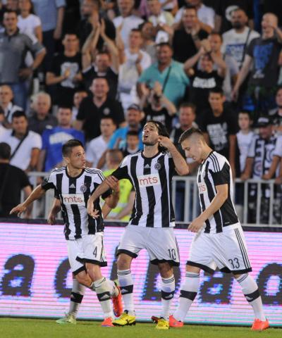 Sjajni Partizan prošao u naredno kolo kvalifikacija za Ligu Šampiona