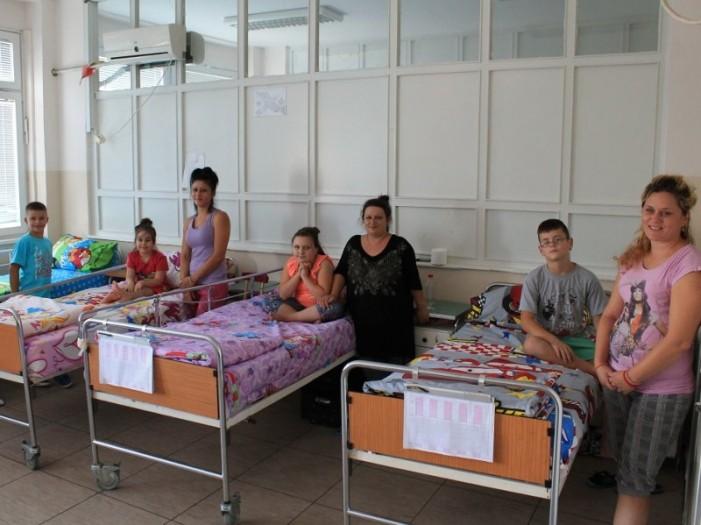 Klinika za pulmologiju i fizikalnu medicinu u Nišu dobila klima-uređaje i posteljinu