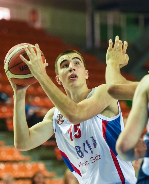Marko Pecarski – centar kadetske reprezentacije Srbije