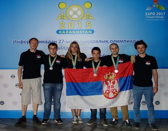 Na Olimpijadi u Kazahstanu programeri iz Srbije osvojili 4 medalje