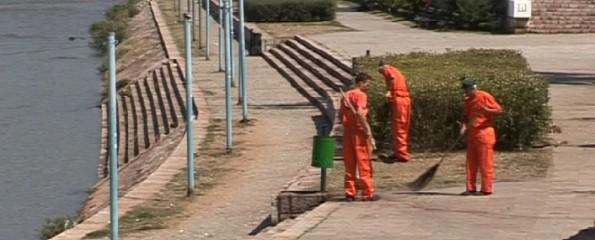 "Grad Niš i JKP ""Mediana"" čiste Nišavu i njene pritoke kao i ulice sporednih kategorija"
