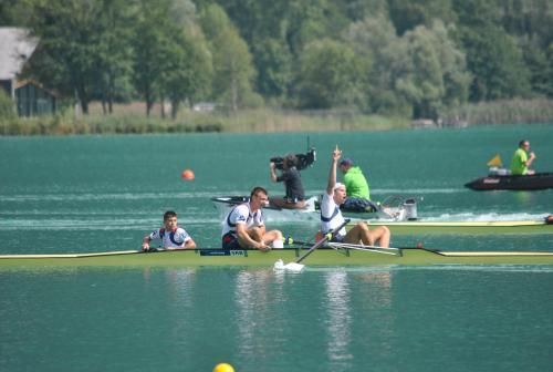 Dve bronzane medalje za Srbiju u veslanju