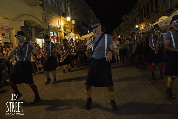 Održan 15. festival uličnih svirača u Novom Sadu