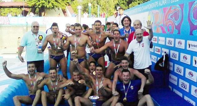 Juniorska reprezentacija Srbije u vaterpolu prvak sveta