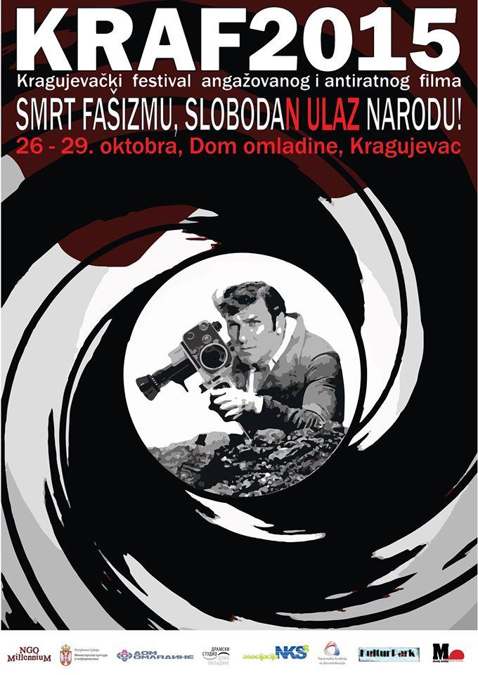 9. KRAF – Kragujevački festival antiratnog i angažovanog filma od 26. do 29. oktobra