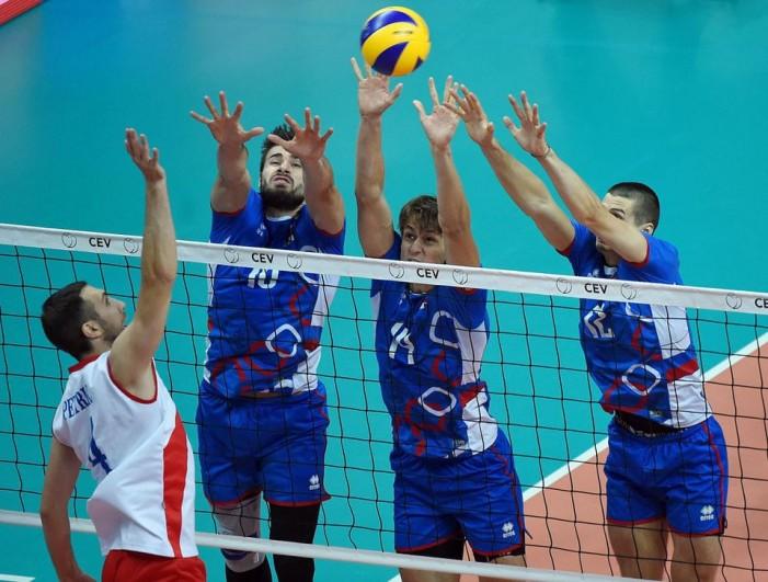Odbojkaši Srbije pobedom nad Slovačkom startovali na Evropskom prvenstvu