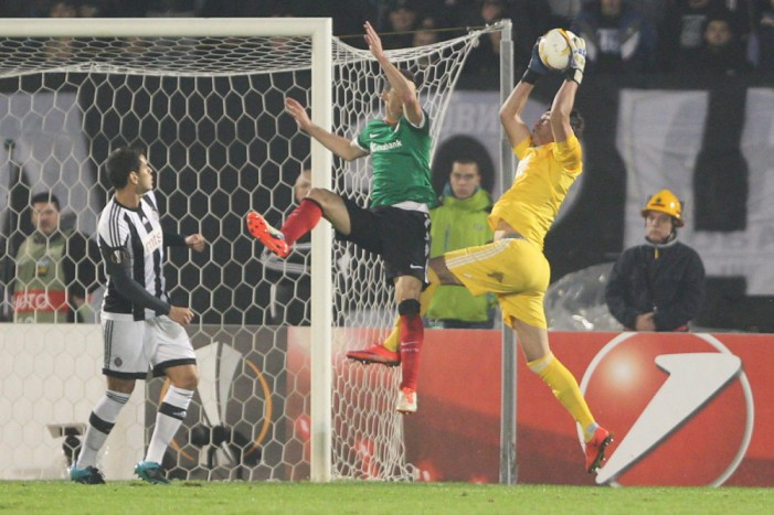 Atletik Bilbao ipak bolji: Oslabljeni Partizan nije uspeo da izbori povoljan rezultat u Humskoj