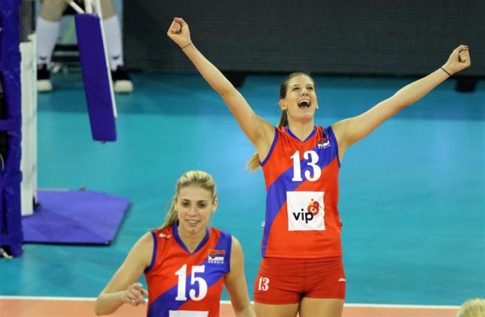 Odbojkašice Srbije pobedom nad Belgijom ušle u polufinale Evropskog prvenstva