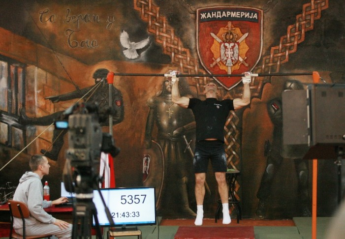Vinko Trivunović oborio Ginisov rekord sa 5.820 zgiba