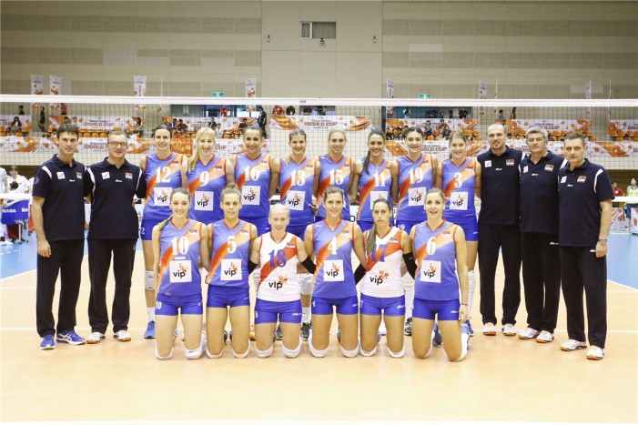 Odbojkašice Srbije osvojile bronzu na Evropskom prvenstvu 2015 u Belgiji i Holandiji