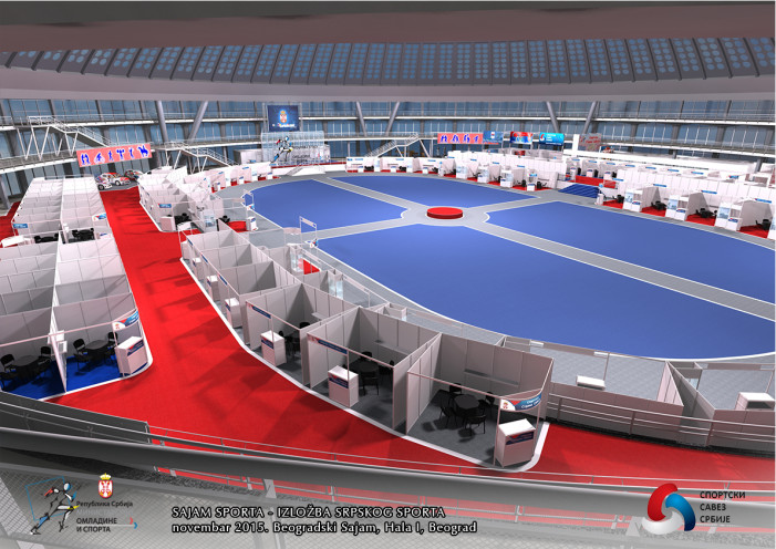 Drugi sajam sporta u Hali 1 beogradskog sajma od 27. do 29. novembra