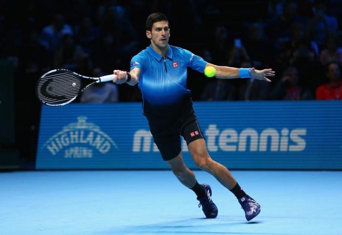 Novak nastavio seriju pobeda i na početku završnog masters turnira u Londonu