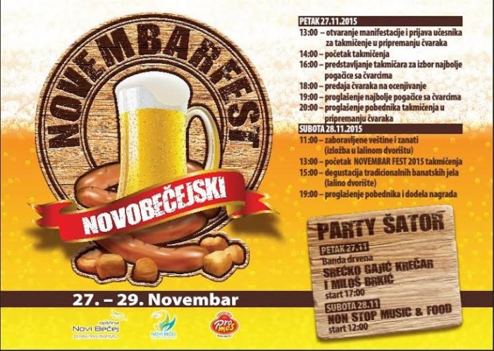Prvi Novobečejski novembarfest