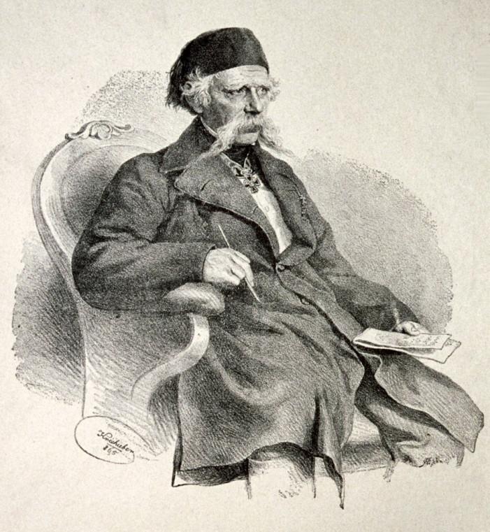 Vuk Stefanović Karadžić – tvorac azbuke, sakupljač narodnih umotvorina i pisac prvog rečnika srpskog jezika