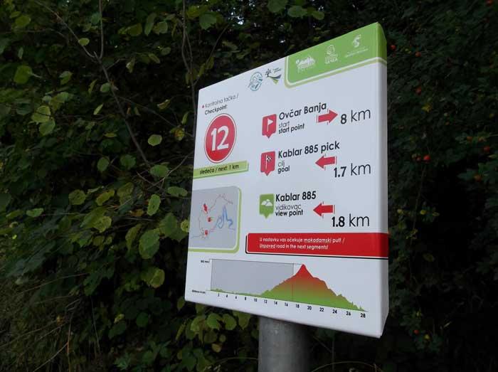 Prva biciklistička staza u Ovčarsko-kablarskoj klisuri