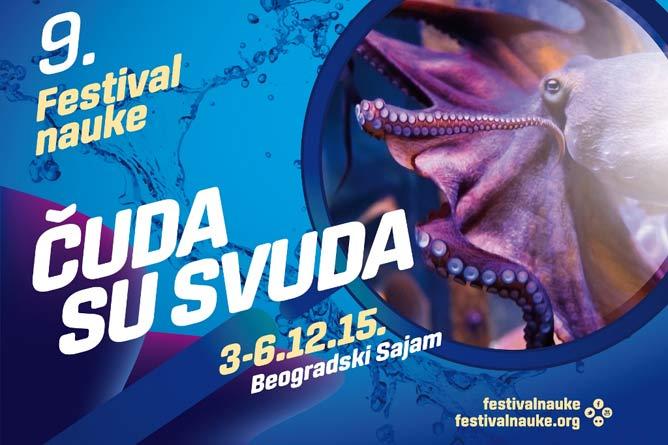 9. Festival nauke od 3. do 6. decembra 2015. godine