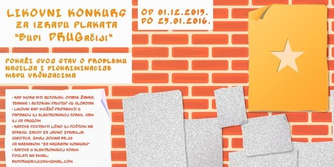 Budi DRUGačiji – Likovni konkurs za srednjoškolce u Vojvodini