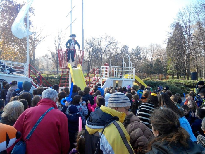 """Niška galija"" u Čairskom parku obradovala mališane"