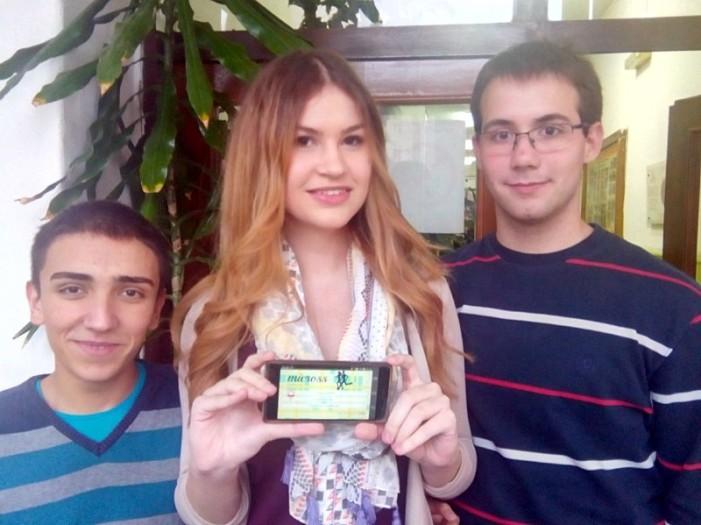 Niški matematičari Dušan, Anđela i Stefan pobedili na 5. mts android konkursu sa aplikacijom za promociju svog grada