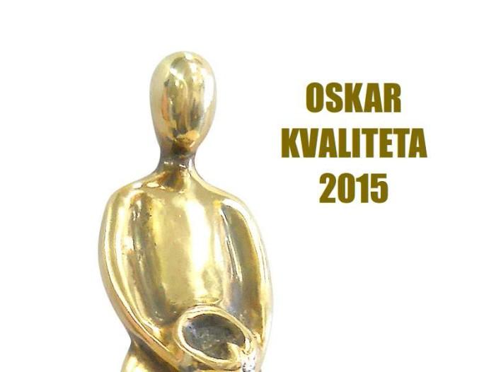 Uručene Nacionalne nagrade za poslovnu izvrsnost – Oskar kvaliteta 2015