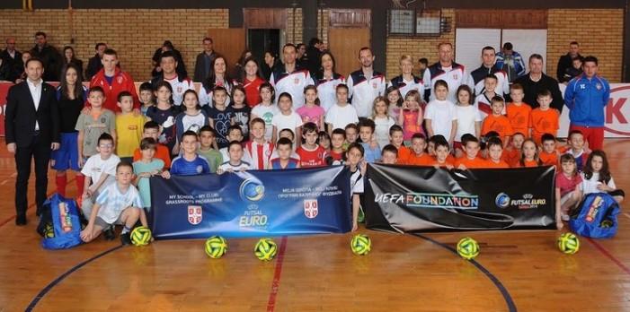 U susret Evropskom prvenstvu u futsalu koje se održava u Beogradu