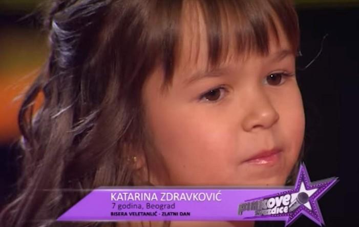 """Pinkove zvezdice, 20. epizoda: HIT večeri Katarina Zdravković sa numerom """"Zlatni dan"""" (VIDEO)"""