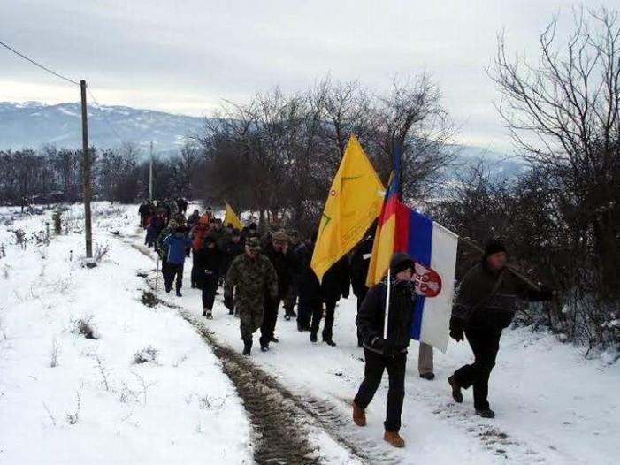 Dani Vranja počeli maršom stazama oslobodilaca