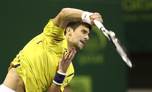 Novak savladao Majera sa 2:0 pa sa Berdihom igra polufinale Dohe