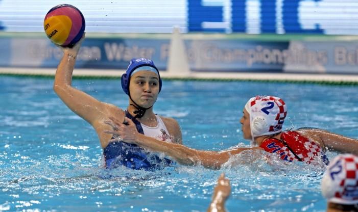 Ženska vaterpolo reprezentacija Srbije pobedila Hrvatsku sa 8:4 u drugom kolu EP 2016