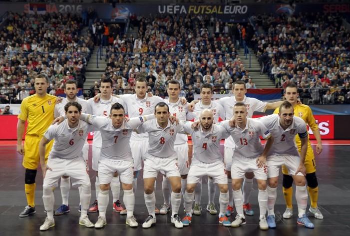 Futsal reprezentacija Srbije ispunila cilj – Plasman među 4 najbolje ekipe Evrope