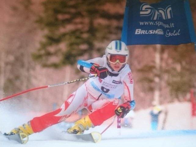 Milica Kovačević prva skijašica iz Srbije koja se plasirala na Zimske olimpijske igre mladih