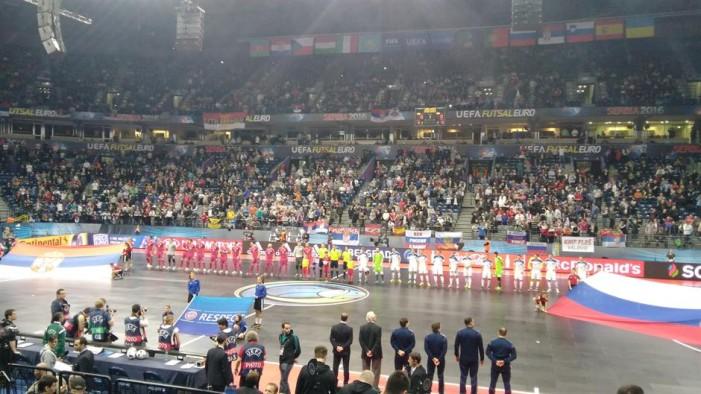 """""""Čarobnjaci"""" nisu mogli protiv jake Rusije. Futsal reprezentacija Srbije će igrati za bronzu"""