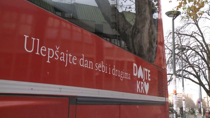 Ulepšajte dan sebi i drugima – Dajte KRV – danas od 11-17h u naselju Stepa Stepanović