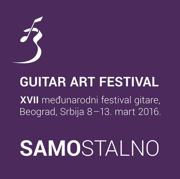 "Počinje 17. ""Guitar art festival"""