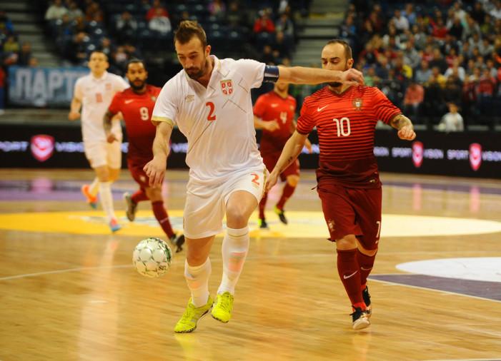 Odlična futsal reprezentacija Srbije izgubila od Portugala sa 1:2, ali dobra igra daje nadu za preokret u gostima