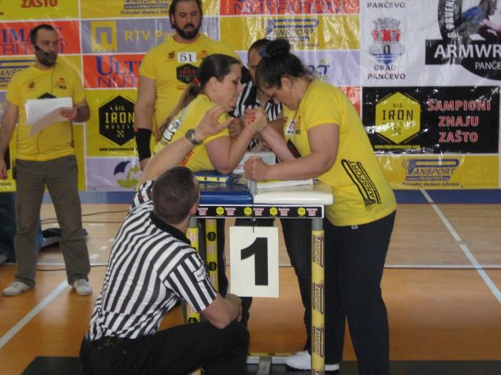 """Nadmetanje """"bicepsa i tricepsa"""" u Pančevu – 7. Prvenstvo Srbije u obaranju ruke"""