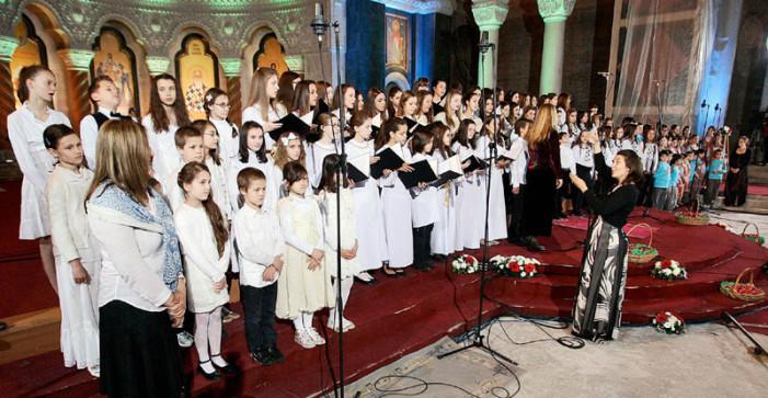 Svečani vaskršnji koncert u Hramu Svetog Save