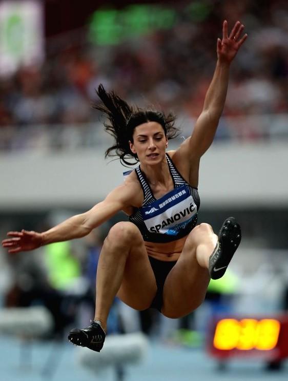 Ivana Španović sa 6,95 metara postavila novi rekord Šangaja