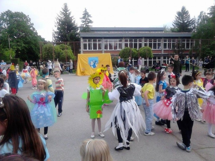 "Maskembal predškolaca ""Čuvarko planete""- Dan planete Zemlje"