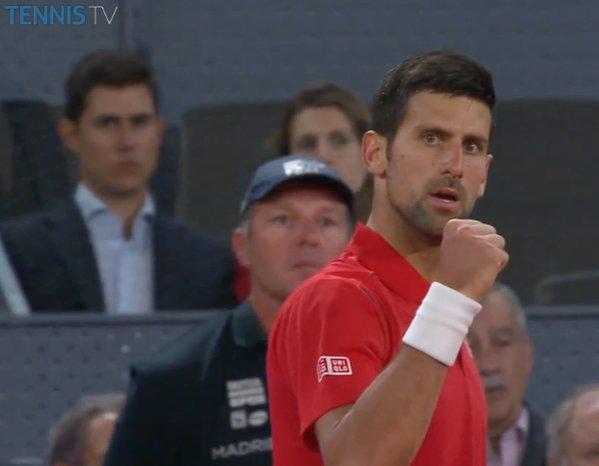Novak Đoković preko Raonića do polufinala Mutua Madrid Open-a