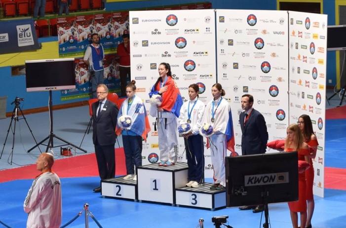 Tijana Bogdanović osvojila zlatnu medalju na šampionatu Evrope
