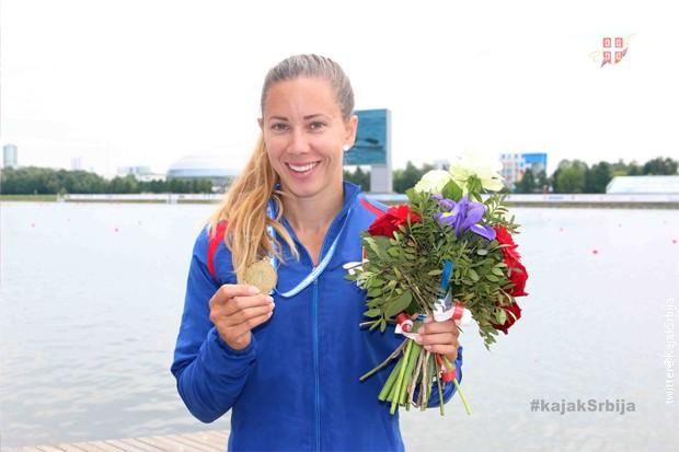 Kristina Bedeč osvojila zlato na 1.000 metara na Evropskom prvenstvu u Moskvi