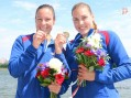 Milica Starović i Dalma Ružičić Benedek osvojile zlato u kajaku na 1.000 metara
