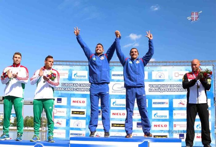Nebojša Grujić i Marko Novaković zlatni uz novi rekord na 200 metara