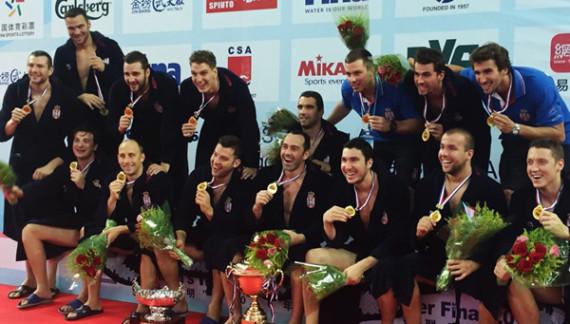 Vaterpolisti Srbije pobedom nad Amerikom osvojili Svetsku ligu