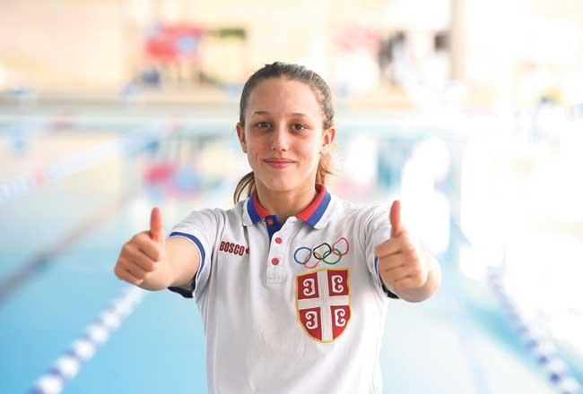 Na Evropskom prvenstvu za juniore Anja Crevar osvojila zlato na 400 metara mešovito